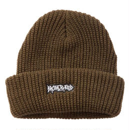 """BROTHER HOOD"" ICONIC PATCH - KNIT BEANIE (DARK GREEN)"