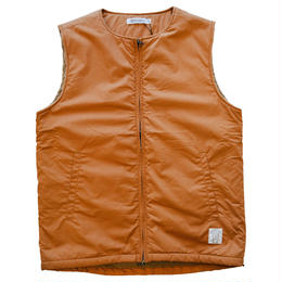 """RANCH STANDARD"" COTTON POPLIN VEST (BROWN)"