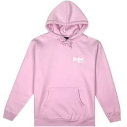 """BELIEF"" BOLT HOODY (PINK)"