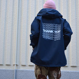 """THANK YOU"" MOUNTAIN PARKA (NAVY)"