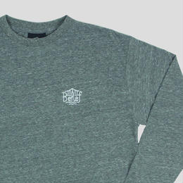 """BELIEF"" TRIBORO L/S SCOOP TEE (TRI HEATHER)"