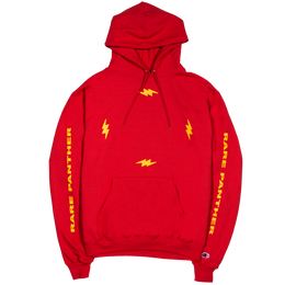 """""""RARE PANTHER"""" FOUR BOLT CHAMPION HOODIE (RED)"""