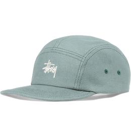 """""""STUSSY"""" BASIC LOGO CAMP CAP (OLIVE)"""