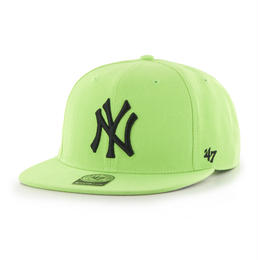 """47Brand"" Yankees Sure Shot '47 CAPTAIN  (LIME)"