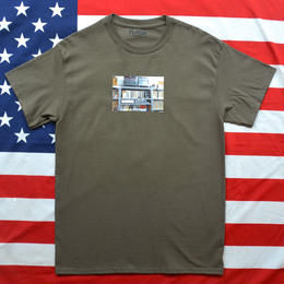 """""""NEW YORK PHOTO"""" NEW YORK MINUTE S/S TEE (RECORD/CHARCOAL)"""