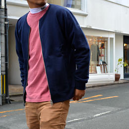 """WING FOOT"" NO COLOR JACKET (NAVY)"