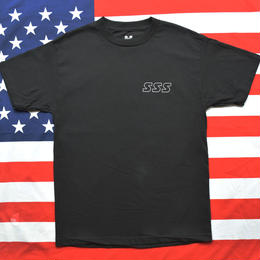"""SSS"" REFLECTOR US S/S TEE (BLACK)"
