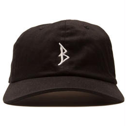 """BROTHER HOOD"" B ICONIC - COLLEGE CAP (BLACK)"