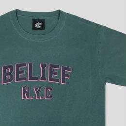"""""""BELIEF"""" COLLEGE TEE (SPRUCE)"""
