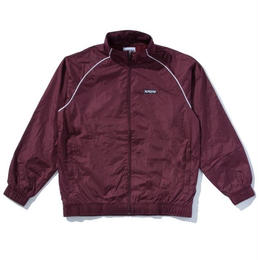 """BROTHERHOOD"" LEISURE TRACK JACKET (MAROON)"