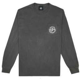 """BELIEF"" ATLANTIC L/S POCKET TEE (PEPPER)"