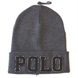 """POLO RALPH LAUREN""KNIT CAP(GRAY)"