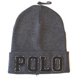 """""""POLO RALPH LAUREN""""KNIT CAP(GRAY)"""