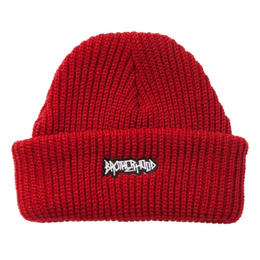 """BROTHER HOOD"" ICONIC PATCH - KNIT BEANIE (RED)"