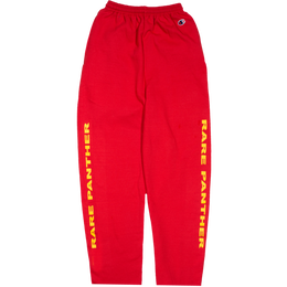 """RARE PANTHER"" FOUR BOLT CHAMPION SWEAT PANT (RED)"