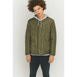 """Stussy"" Quilted Military Jacket (Olive)"