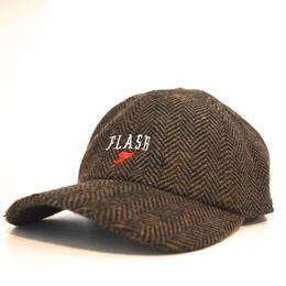 """FLASH ORIGINAL"" WING FOOT WOOL BLEND CAP (BROWN)"