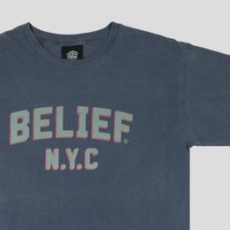 """""""BELIEF"""" COLLEGE TEE (DENIM)"""
