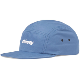 """STUSSY"" CRUSHABLE CAMP CAP (BLUE)"