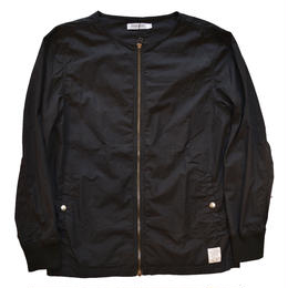 """RANCH STANDARD"" COTTON POPLIN JACKET (BLACK)"
