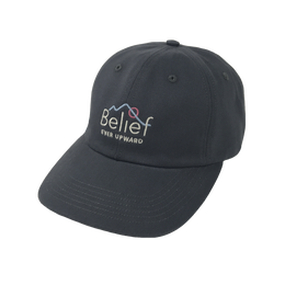 """BELIEF"" ALPINE CAP (CHARCOAL)"