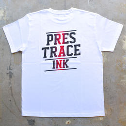 """PRESTRACE INK"" S/S TEE (WHITE)"