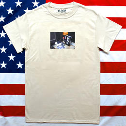 """NEW YORK PHOTO"" NEW YORK MINUTE S/S TEE (MOOD/NATURAL)"