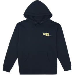 """BELIEF"" BOLT HOODY (NAVY)"