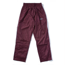 """BROTHERHOOD"" LEISURE TRACK PANTS (MAROON)"