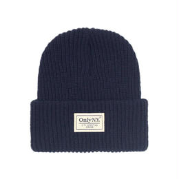 """ONLY NY"" Lodge Beanie (Dark Navy)"