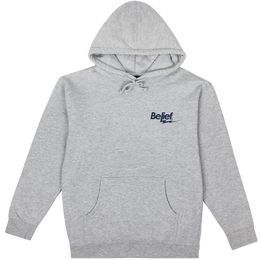 """BELIEF"" BOLT HOODY (HEATHER GREY)"