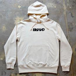 """""""BRAND"""" 浮世絵 HOODIE (NATURAL)"""
