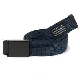 """HUF"" MILITARY BELT (NAVY)"