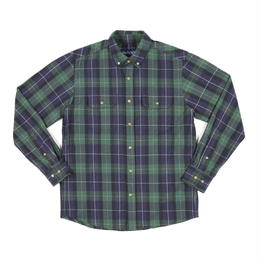 """ONLY NY"" Lodge Flannel Shirt (Navy)"