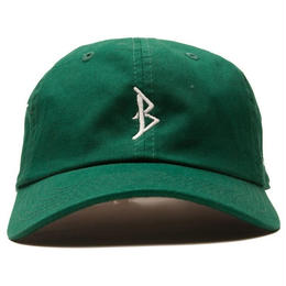"""BROTHER HOOD"" B ICONIC - COLLEGE CAP (DARK GREEN)"