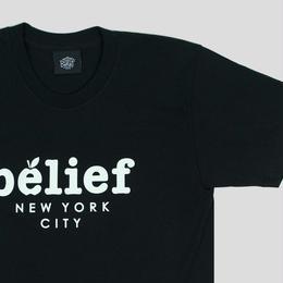"""""""BELIEF"""" MARKET TEE (BLACK)"""
