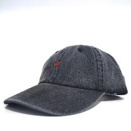 """""""BRVND"""" ROSE CAP (BLACKDENIM)"""