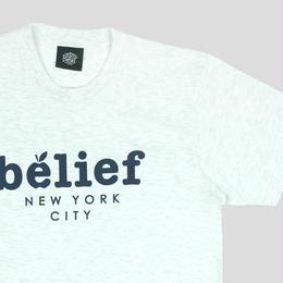 """BELIEF"" MARKET TEE (ASH HEATHER)"