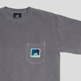 """BELIEF"" NORTHERN LIGHTS POCKET TEE (CLAY)"