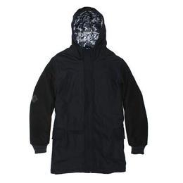 """STAPLE"" Melton Wool Coat (BLACK)"