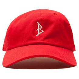 """BROTHER HOOD"" B ICONIC - COLLEGE CAP (RED)"