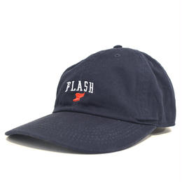 """FLASH ORIGINAL"" WING FOOT 6PANEL CAP (NAVY)"