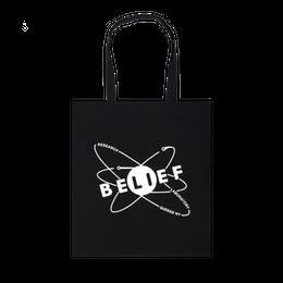 """BELIEF"" PHYSICS TOTE (BLACK)"