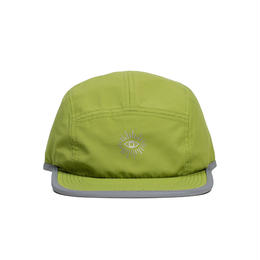 """ICNY"" RIPSTOP REFLECTIVE EYE CAP (YELLOW GREEN)"