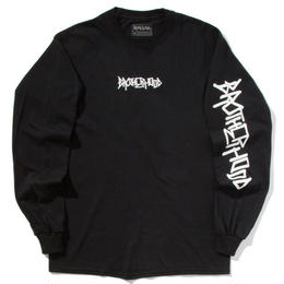 """BROTHER HOOD"" ICONIC - L/S TEE (BLACK)"