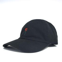 """""""BRVND"""" ROSE CAP (BLACK)"""