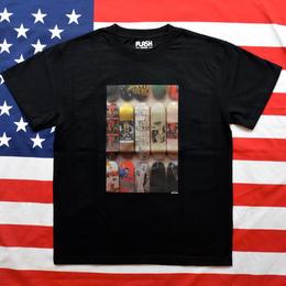 """NEW YORK PHOTO"" NEW YORK MINUTE S/S TEE (DECK/BLACK)"
