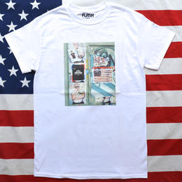 """NEW YORK PHOTO"" NEW YORK MINUTE S/S TEE (WHITE)"