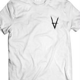 Antiz Wear T-shirt V Logo White & Black Print