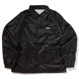 """BROTHER HOOD"" ICONIC PATCH - COACHES JACKET (BLACK)"